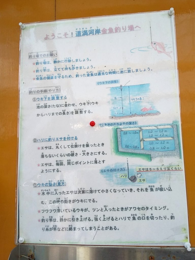 釣り場指南